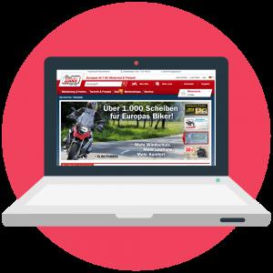 Detlev Louis Motorrad-Vertriebsgesellschaft mbH Onlineshop