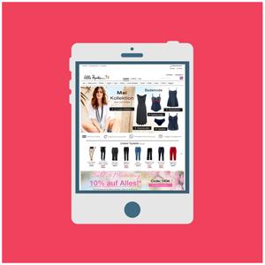 Ulla Popken GmbH Tablet Online Shop