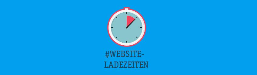 Schnellere Website Ladezeiten Teaser