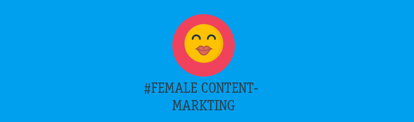 Female Content-Marketing Teaser
