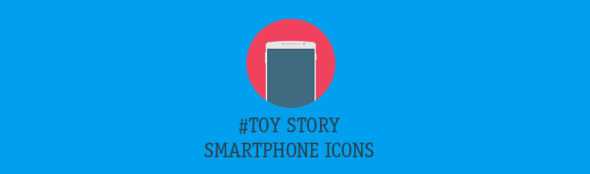 Smartphone-Icons im Toy Story Look Teaser